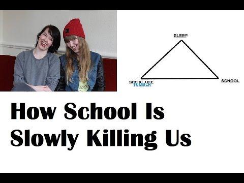 How School Is Slowly Killing Us - YouTube