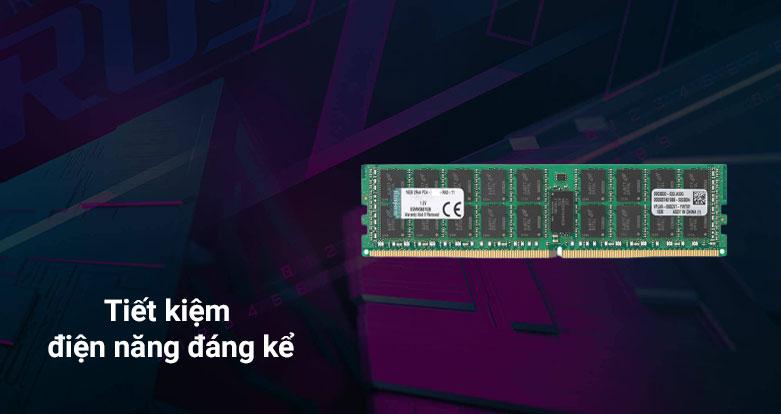 Bộ nhớ/ Ram Kingston 16G DDR4 2666 (KSM26ED8/16HD) | Tiết kiệm điện naeng đáng kể