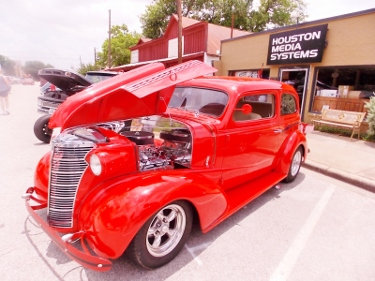 Almost Wordless Sunday - Classic Cars at Katy Market Days