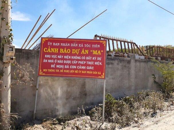Một cảnh báo về dự án ma