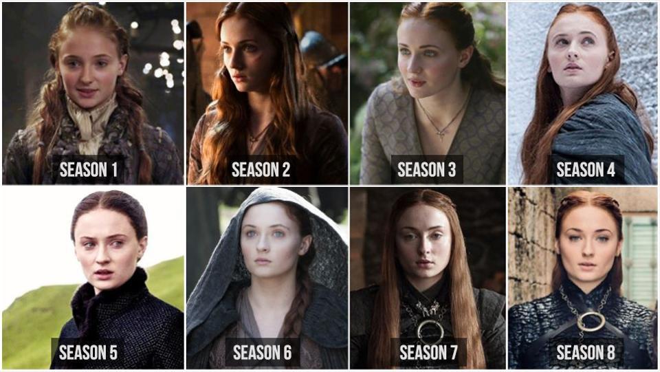 Sansa red hair