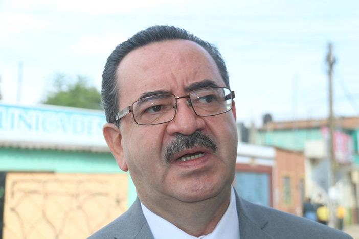 El secretario de Seguridad Pública, Jorge Alberto Ruiz Martínez. Foto: Cuarta Plana