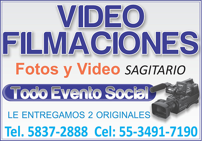 VIDEO FILMACIONES SAGITARIO