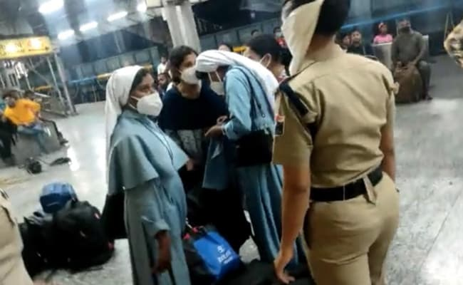 2 Arrested Days After Nuns Forced Off Train In UP's Jhansi