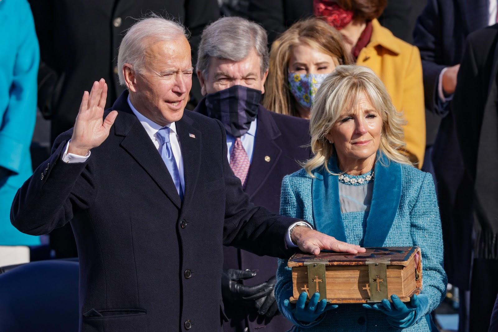 PHOTOS: The Inauguration Of Joe Biden And Kamala Harris | WBUR News