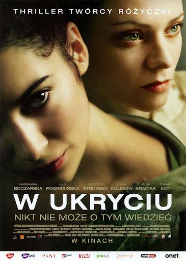 Przód ulotki filmu 'W Ukryciu'