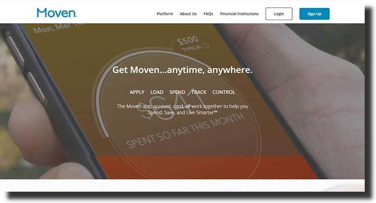 Moven website design