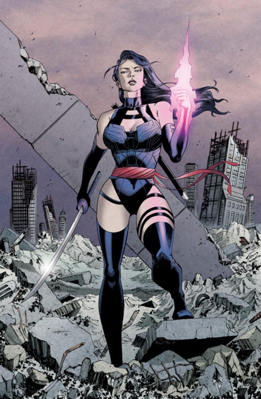 Psylocke – The sexy ninja