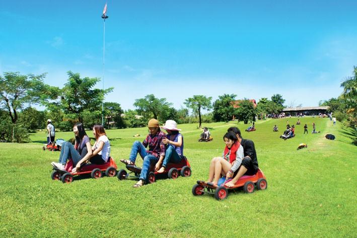 Tìm hiểu các hoạt động thú vị tại khu nghỉ dưỡng vườn xoài