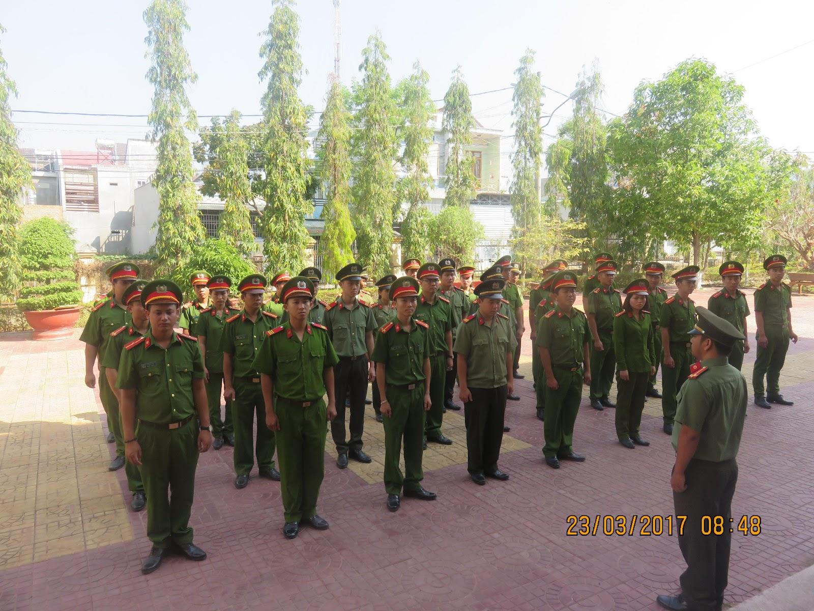 CATP.Kon Tum hoàn thành đợt tập huấn điều lệnh và huấn luyện quân sự, võ thuật CAND năm 2017