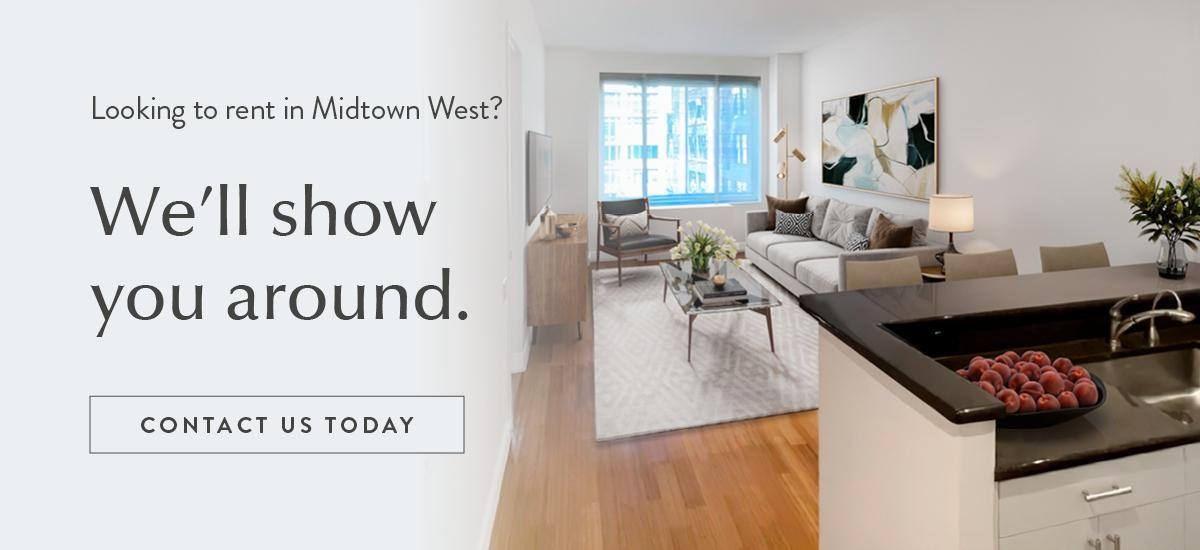 Looking to rent in Midtown West NYC? We'll show you around. Contact us today.