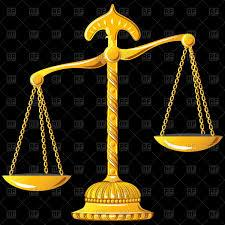 Image result for SCALES OF JUSTICE ILLUSTRATION