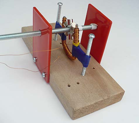 Science Fair Project  Build a Small Electric Generator