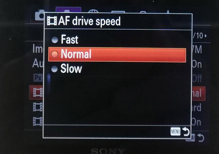 Kecepatan continuous shutter bisa diatur hingga kecepatan 24 fps. Foto:Dicky