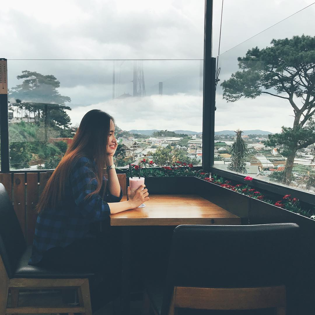 Cafe Panorama điểm check-in của giới trẻ