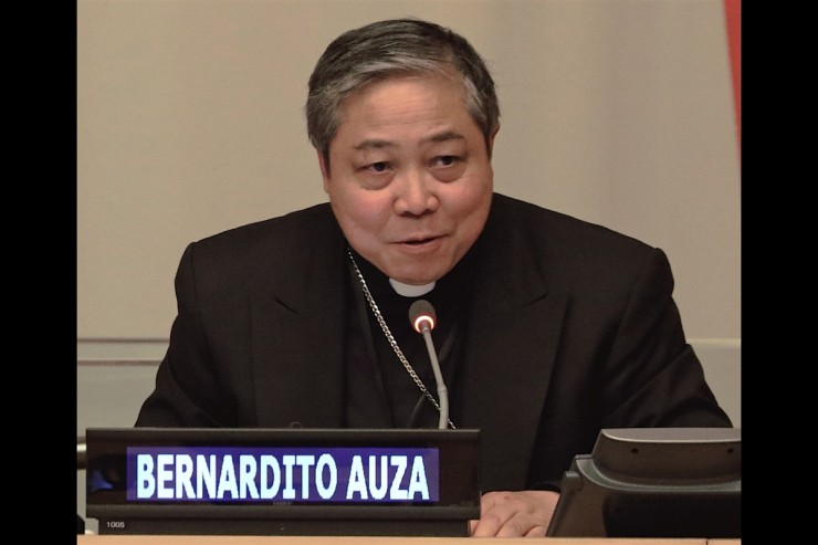 Archbishop Bernardito Auza ©Holy See Mission