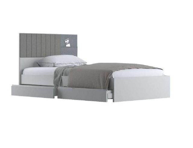 5. SB Design Square เตียงนอน Econi modern white