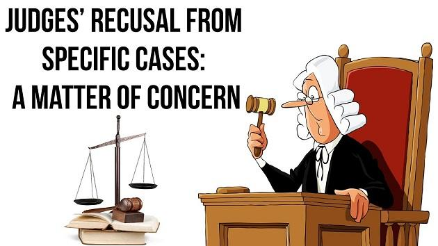 Image result for issue of recusal of judges