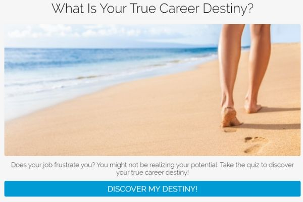 What is your true career destiny? quiz cover