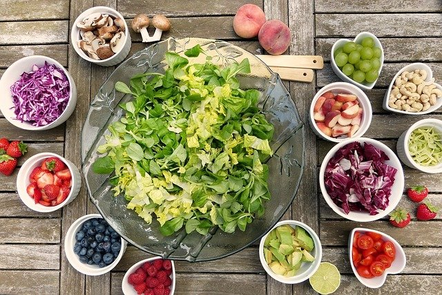 fresh salad meal planning