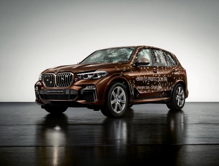 BMW X5 Protection VR6 รุ่นพิเศษกันกระสุนและระเบิดได้จริง