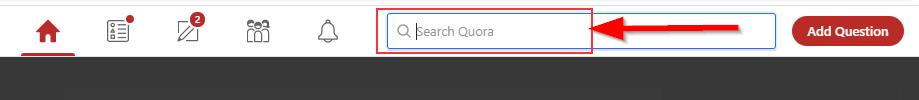 search bar screenshot