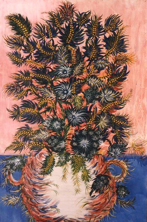 Séraphine de Senlis – Bouquet de mimosas