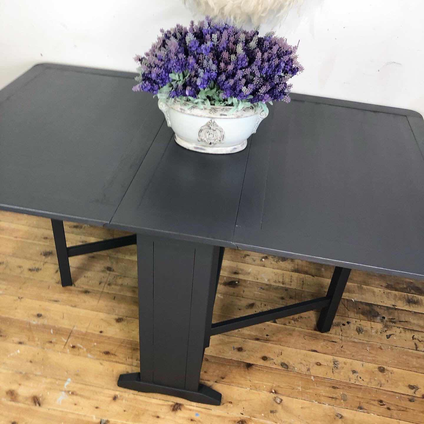 vintage table Jolie graphite lilyfield life