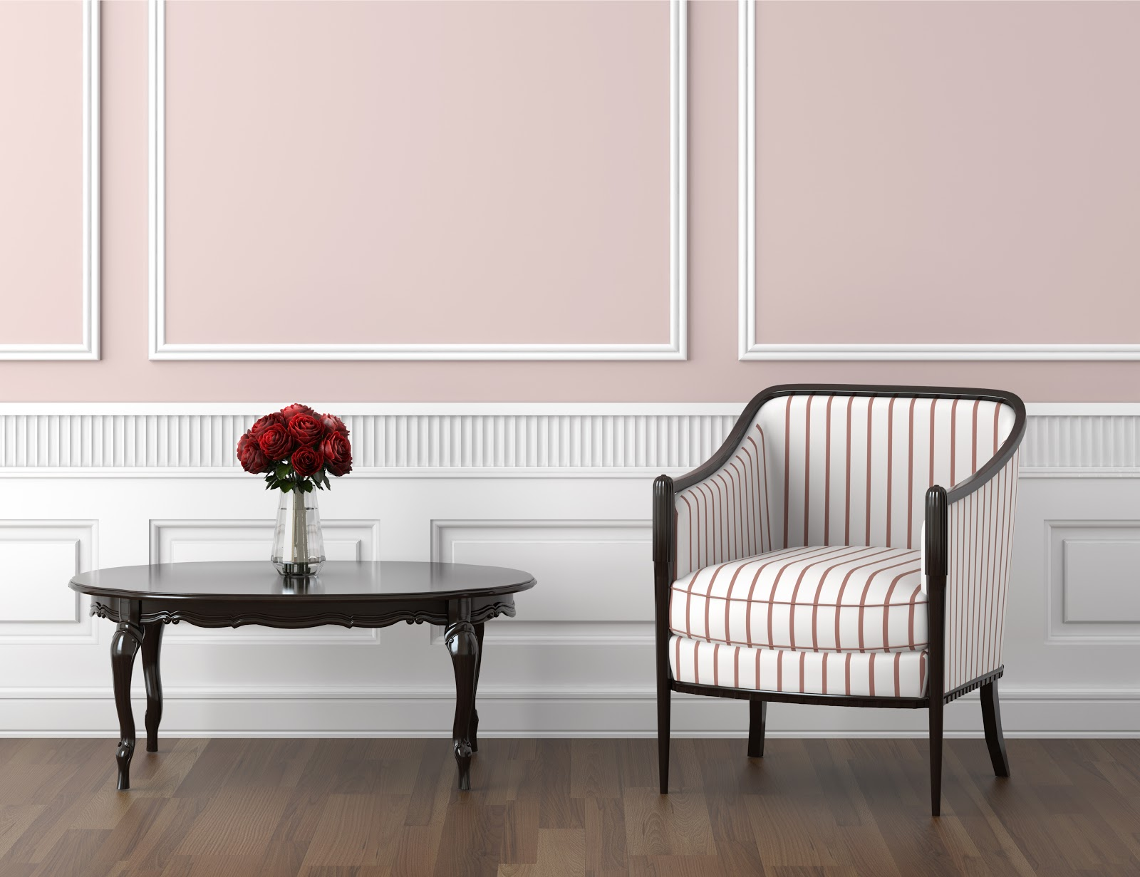 pale pink is the best color for bedrooms