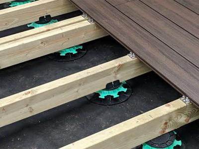 put decking on paving