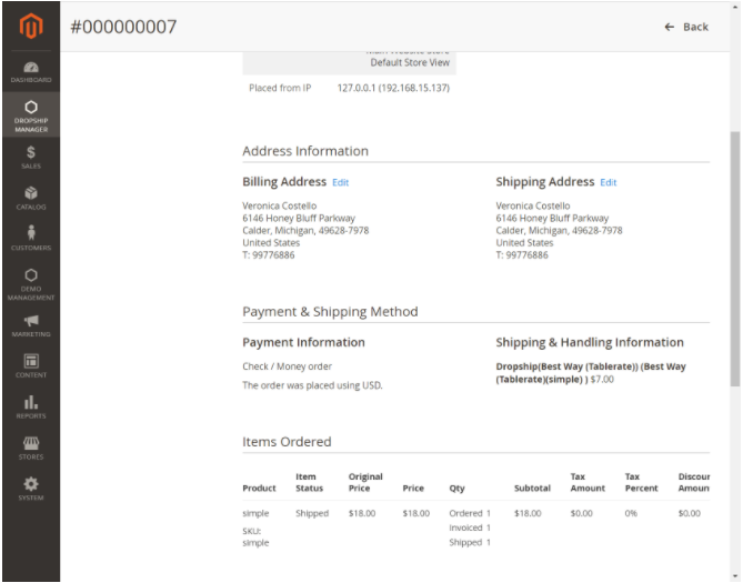 awesome Magento dropship extension