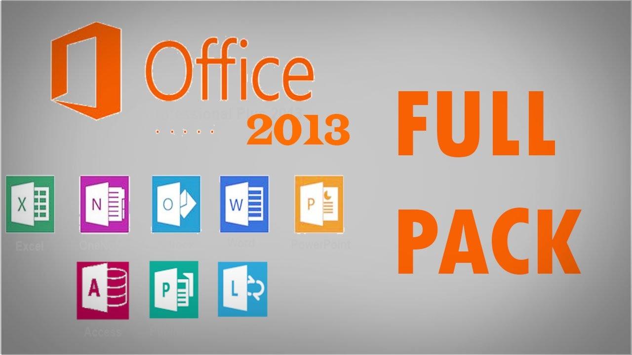 Phần mềm MicrosoftOffice 2013
