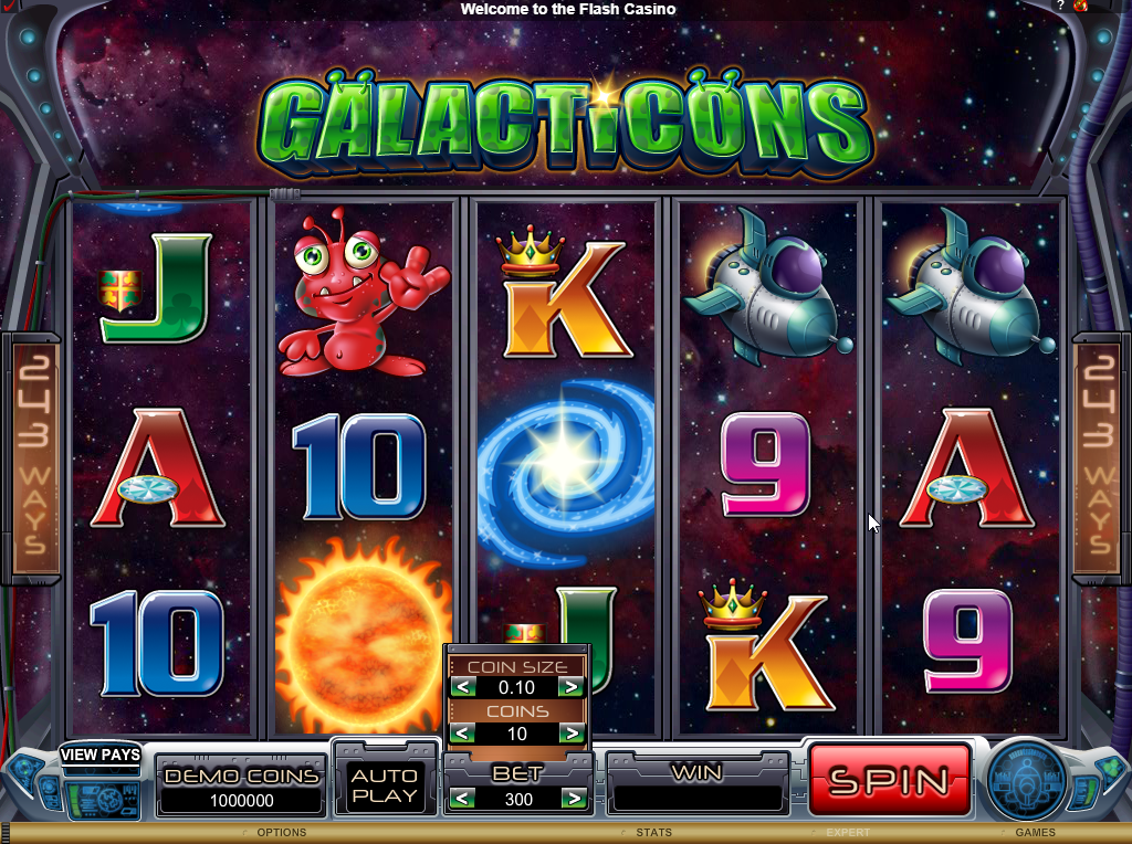 Galacticons Slots Game Review