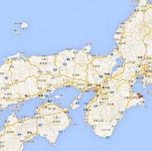 出雲大社・地図