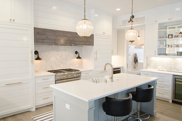 White themed kitchen