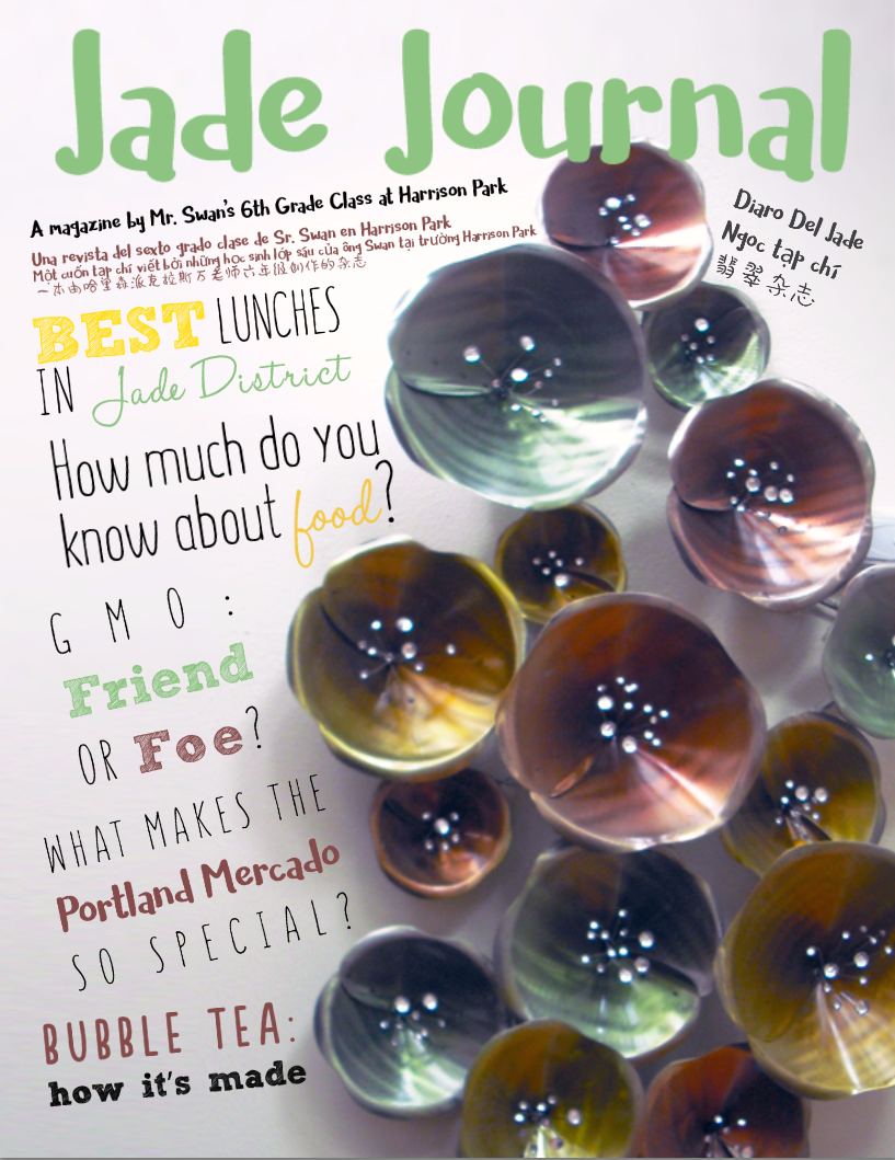 Jade Journal second edition cover.