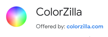 browser extension website developer colorzilla