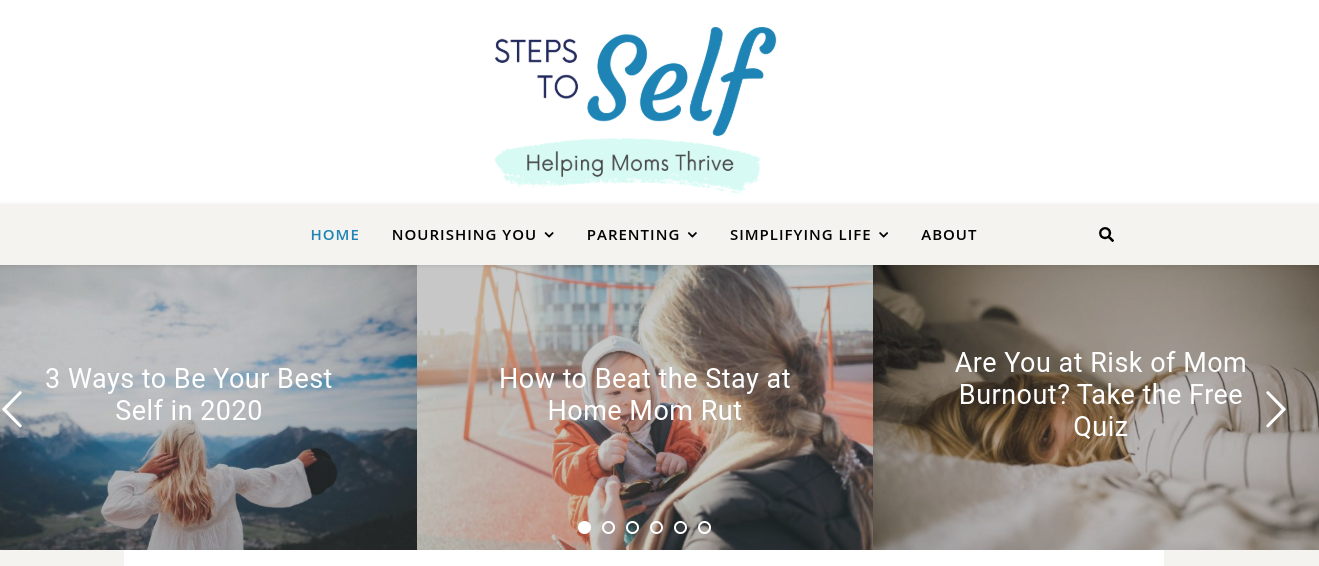 Gina from Steps to Self for fourth trimester blog