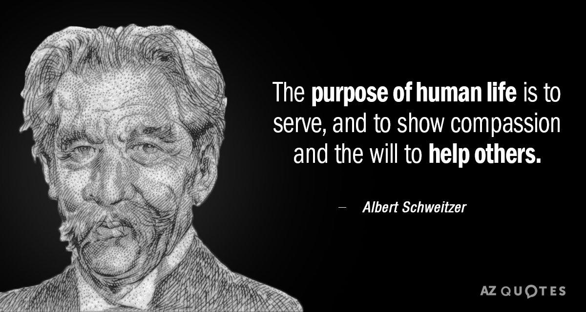 TOP 25 QUOTES BY ALBERT SCHWEITZER (of 347) | A-Z Quotes