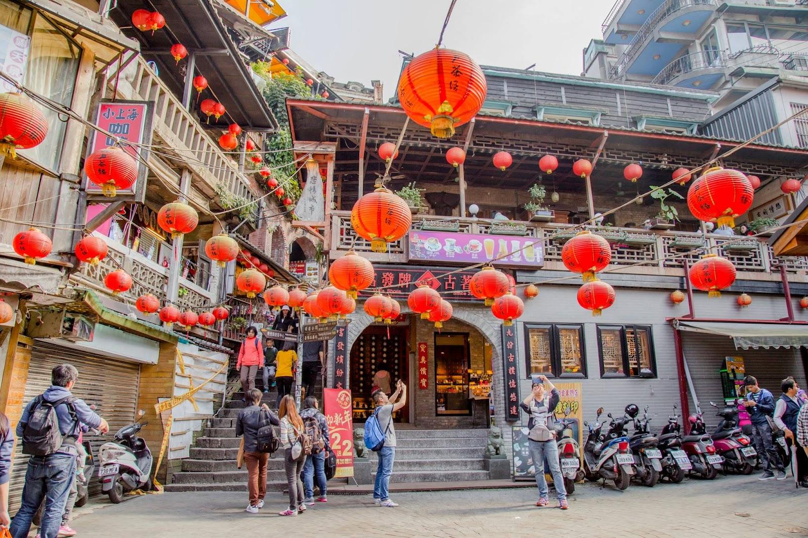 Tham quan làng cổ Cửu Phần, Đài Bắc, Đài Loan