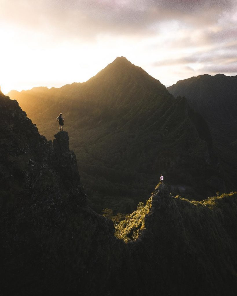 View of Pali Notches - #2 on the 15 Best Hikes on Oahu