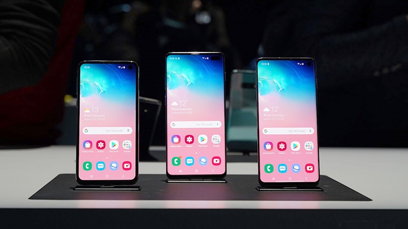 Sửa nút home Samsung Galaxy S10, S10 Plus chính hãng lấy ngay