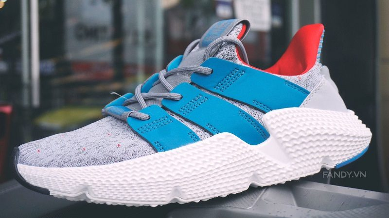 Giày Adidas Prophere Grey/Blue 2018