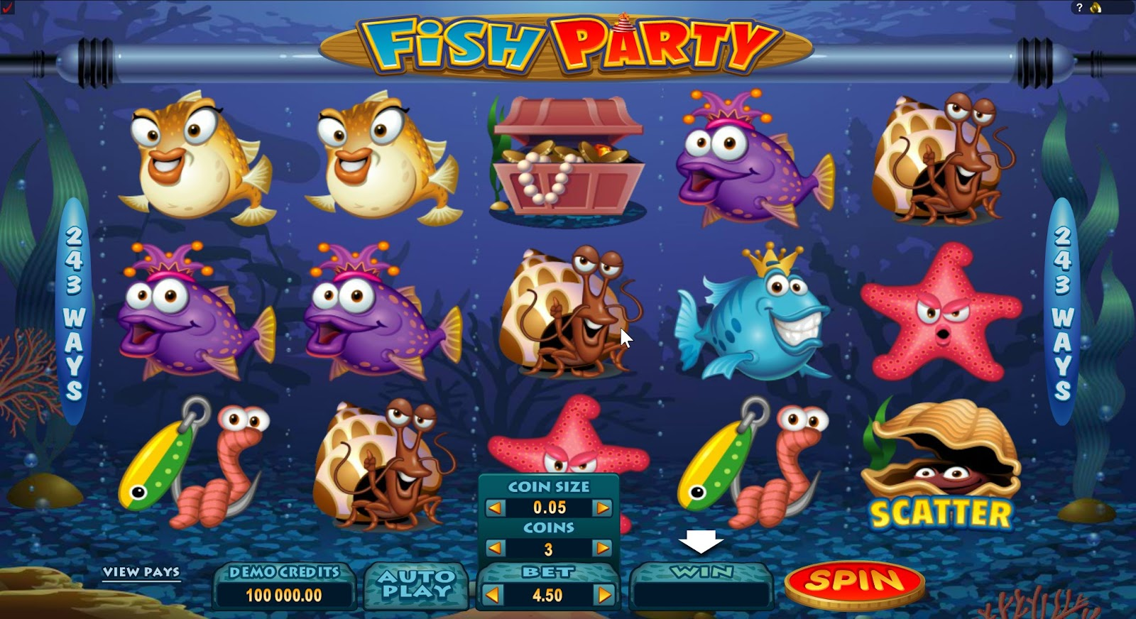 Fish Party Slots Game Review