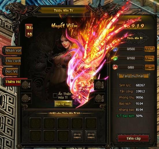 Thiên Hỏa Tí | Webgame Khoa Huyễn Cửu Tinh Vô Song | 360game.vn