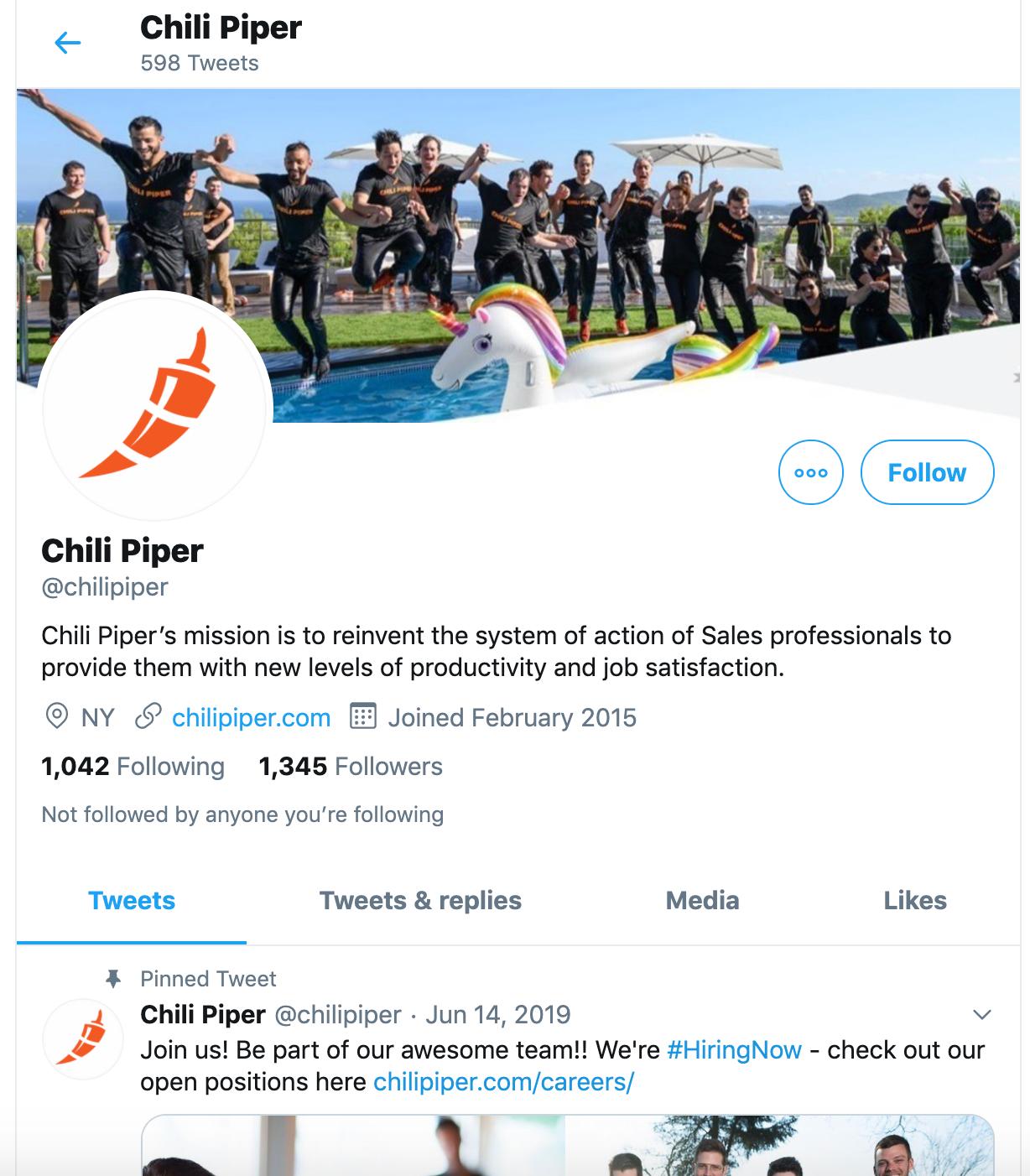 customer engagement chili piper team