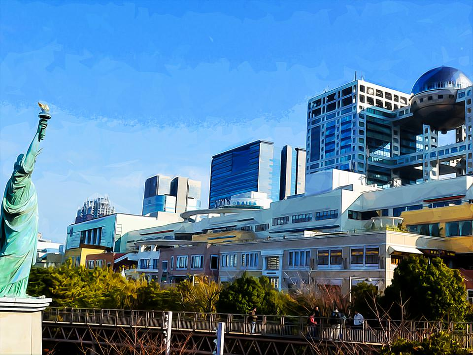 Odaiba, Tokyo, Japan