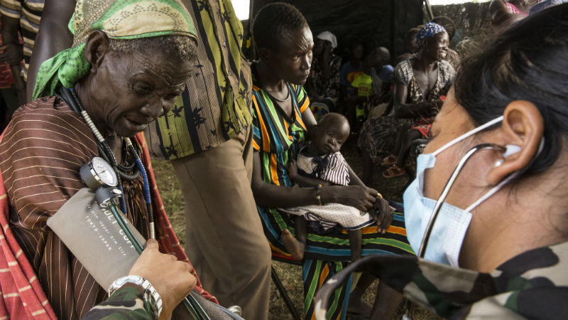 Fragile states lag behind when it comes to health