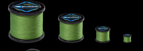 Buy 1500 Yard Spools Of Green Braided Fishing Line