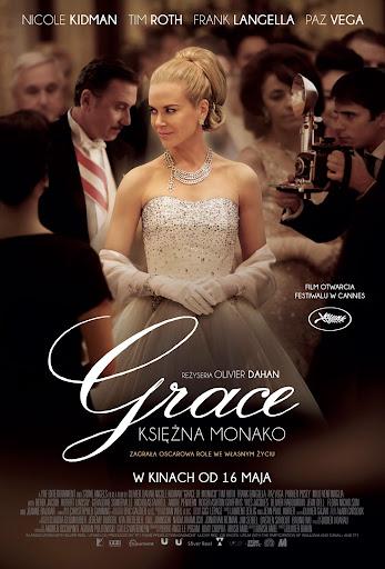 Polski plakat filmu 'Grace Księżna Monako'